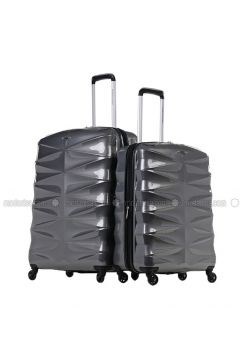 Gray - Suitcases - NK(110328983)