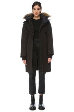 Canada Goose Kadın Sherbrooke Siyah Kapüşonlu Parka S EU(126218085)