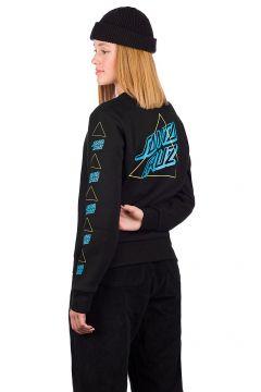 Santa Cruz Not A Dot Outline Crew Sweater zwart(121711093)