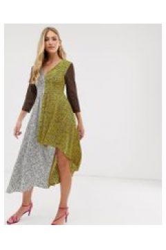 Liquorish - Kleid mit V-Ausschnitt(93444557)