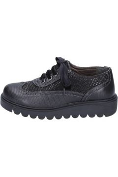 Chaussures enfant Didiblu élégantes noir cuir strass BT344(115442796)