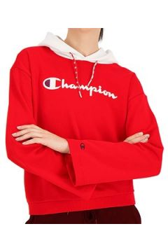 Sweat-shirt Champion FELPA CON CAPPUCCIO ROSSA(115538047)