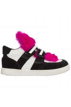Girls shoes baby child suede leather sneakers(116936795)