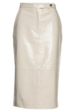 2nd Edition Laila Knielanges Kleid Creme 2NDDAY(108573469)