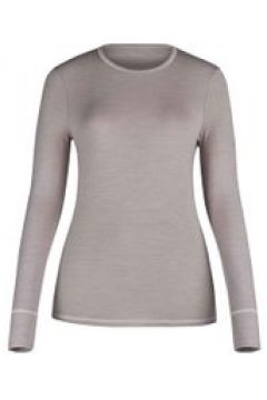 Funktions-Shirt mit Wolle, langarm Skiny taupe melange(111493531)