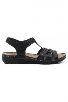 CARLA VERDE Hakiki Deri Kadın Sandalet L.060(114218946)