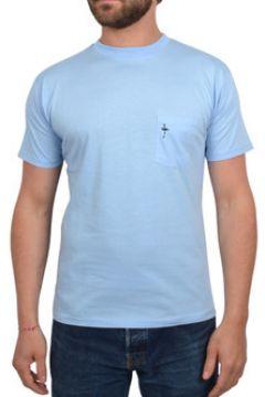T-shirt Katz Outfitter T-shirt homme Pocket Tee bleu ciel - Tee shirt manches courtes(115397652)