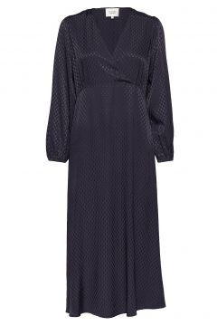 Jupiter Maxi Dress Maxikleid Partykleid Blau SECOND FEMALE(114164244)