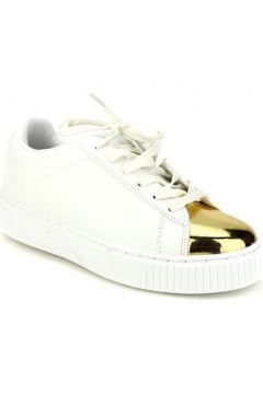 Chaussures Cendriyon Baskets Blanc Chaussures Femme(115425192)