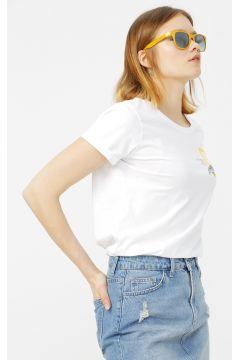 National Geographic Beyaz T-Shirt(126442804)
