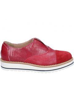 Chaussures K852 Son élégantes rouge cuir daim BT935(98485334)