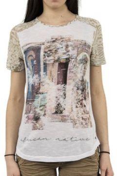 T-shirt Cream 10601770 sanel(115461887)