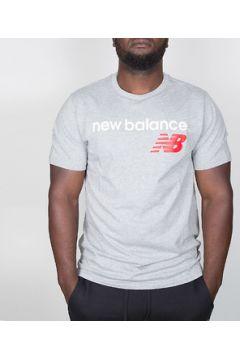 T-shirt New Balance Athletics Main Logo Tee - Athletic Grey(127849569)