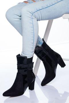 Ayakkabı Frekansı Aris Ayakkabı Siyah Süet(117829924)