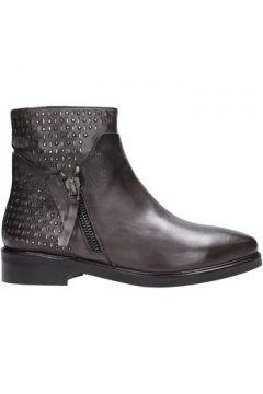 Boots Albano - Tronchetto grigio 100% pelle gomma 2695(101788174)