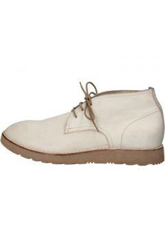 Boots Moma bottines blanc cuir AE989(115399601)