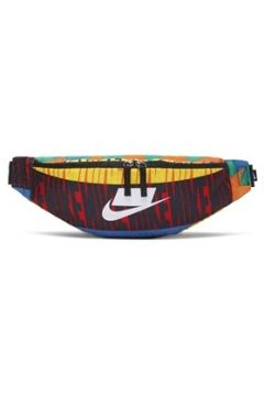 Nike Erkek Heritage Desenli Bel Çantası Siyah EU(113466433)