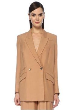 IRO Kadın Bej Kırlangıç Yaka Ceket 34 FR(107433951)