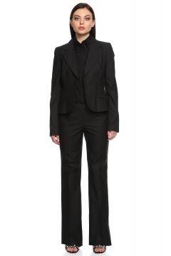 Just Cavalli-Just Cavalli Çizgili Siyah Takım Elbise(115706882)