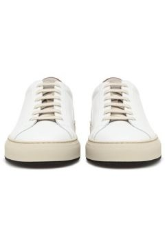 Common Projects Erkek Beyaz Bej Deri Sneaker 39 EU(117653135)