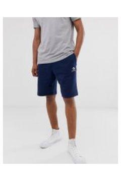 Converse - Jersey-Shorts mit kleinem Logo in Navy - Navy(95023903)