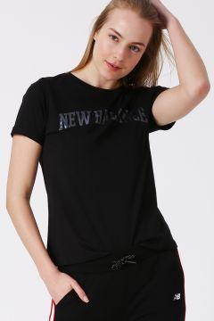 New Balance WTT1923 Siyah Kadın T-Shirt(123481938)