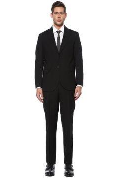 Beymen Erkek Siyah Yün Takım Elbise 46 EU(118478308)