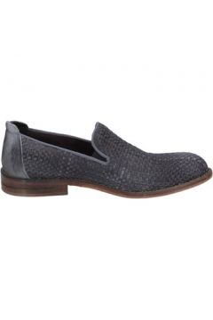 Chaussures Evc slip on mocassins gris cuir BS02(98485413)