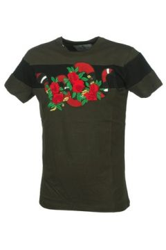 T-shirt Hite Couture Mixer kakiblack mc tee(127871351)