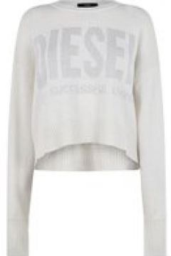 Diesel Lurex Knit Jumper - Cream 129(108849334)