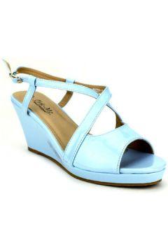 Sandales Cendriyon Compensées Bleu Chaussures Femme(115425214)