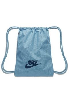 Nike Erkek Heritage Mavi Logolu Büzgülü Sırt Çantası EU(113465033)
