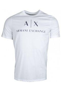 T-shirt Armani T-shirt Exchange blanc pour homme(115625054)