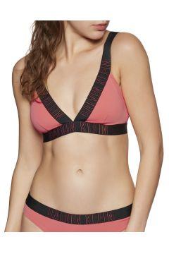 Calvin Klein Plunge Bralette Bikinioberteil - Flamingo(100264577)