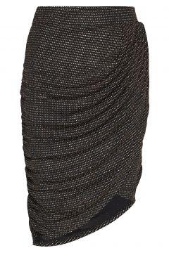 Ravn * Boozt Glimmer Skirt Exclusive Knielanges Kleid Schwarz RAVN(114164210)