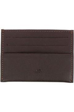 Portefeuille Nuvola Pelle Porte cartes de crédit en cuir Nappa - Melvin - Marron foncé(101549318)