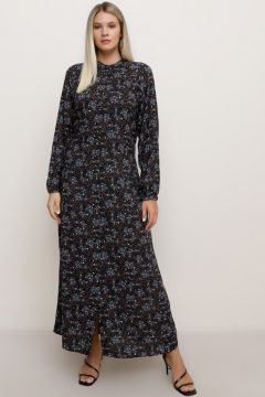 Robe Grande Taille Alia Anthracite / Gris / Noir(125459518)