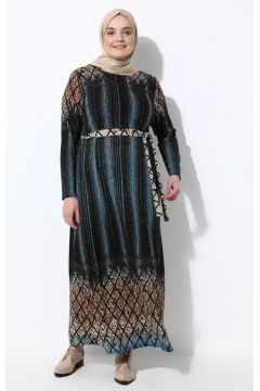 Robe Grande Taille GELİNCE Turquoise(125450039)