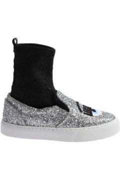 Chaussures Chiara Ferragni CF 2094 SILVER-BLACK(127903016)