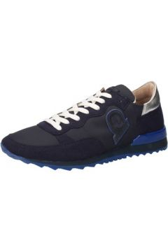 Baskets Invicta sneakers bleu textile daim AB66(115393810)