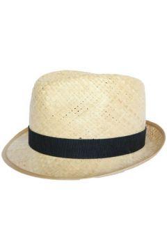 Chapeau Olney Headwear Limited Chapeau paille Georges en raphia naturel(115455441)