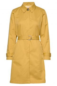 Sol Trench Coat Trenchcoat Mantel Gelb SOFT REBELS(108839472)