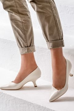 Elle Shoes CHITRA Bej Kadın Ayakkabı(121273003)