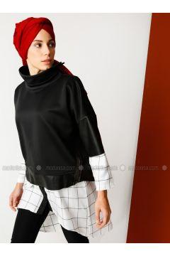 Polo neck - Black - Sweat-shirt - Meryem Acar(110330070)