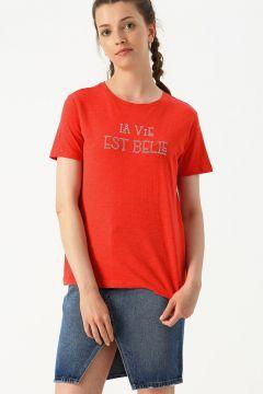 Mustang Yuvarlak Yaka T-Shirt(123421957)