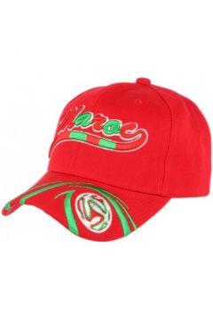 Casquette Pays Casquette Maroc Football rouge et vert(115435320)