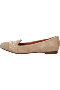 Chaussures Carmens Padova mocassins beige daim AF37(115393244)