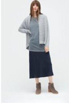 UGG Cardigan châle en biais pour Femmes en Grey, taille Grande | Mélange De Coton(112238745)