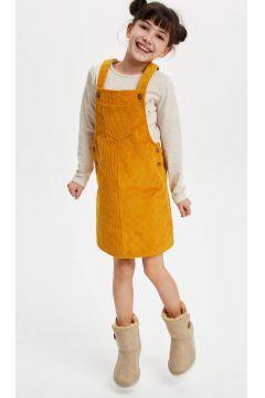 DeFacto Kız Çocuk Askılı Tulum(125917461)