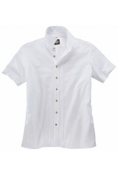 Hammerschmid: Elegantes Kurzarm-Trachtenhemd, 5XL, Weiß(121716413)